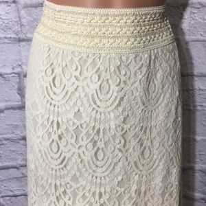 Cato Long Lace Maxi Skirt